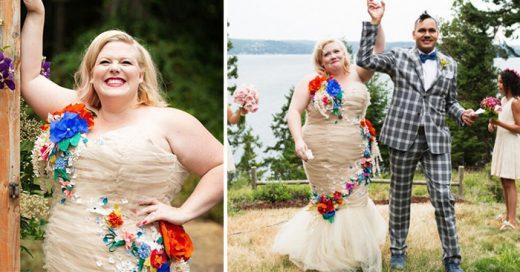 Conmovedora historia de una mujer de Talla grande que cumplió el sueño de una bella propuesta pública de matrimonio y la boda más feliz que pudo tener