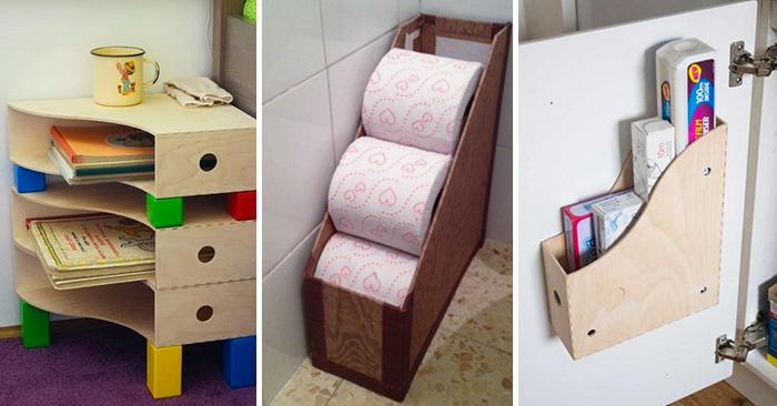 Nuevos usos para utilizar revisteros y organizar tu hogar
