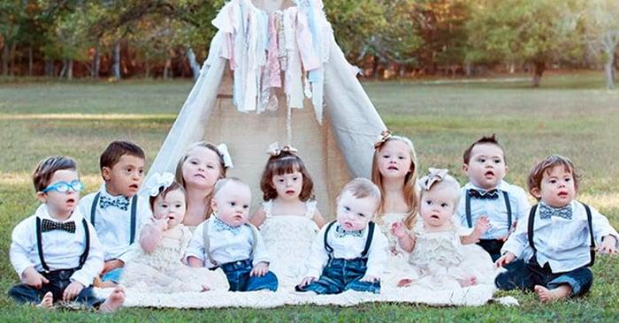 El proyecto que pone en valor la belleza y dulzura de niños con síndrome de Down