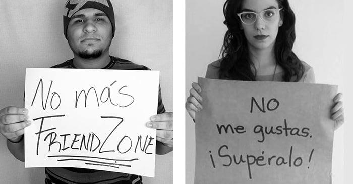 """Hombres lanzan campaña """"igualdad de género"""" y ellas les contestan así"""