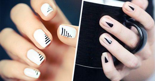 diseños minimalistas para las uñas