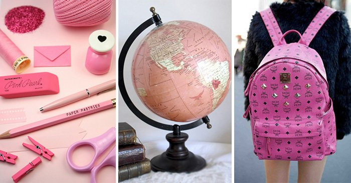 15 Divertidos útiles escolares que volverán loca a toda chica obsesionada con el color rosa