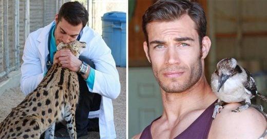 Conoce al veterinario más sexy del mundo ¡Te darán ganas de llevar a tu mascota a un chequeo!
