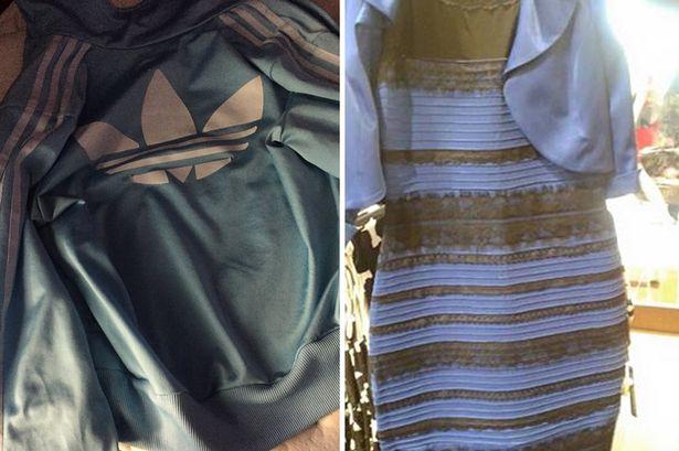 Debate sobre la chaqueta de adidas que es blanco con azul o marron y negro