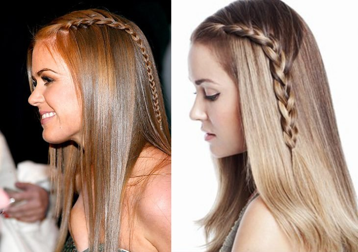 peinados fáciles para pelo largo