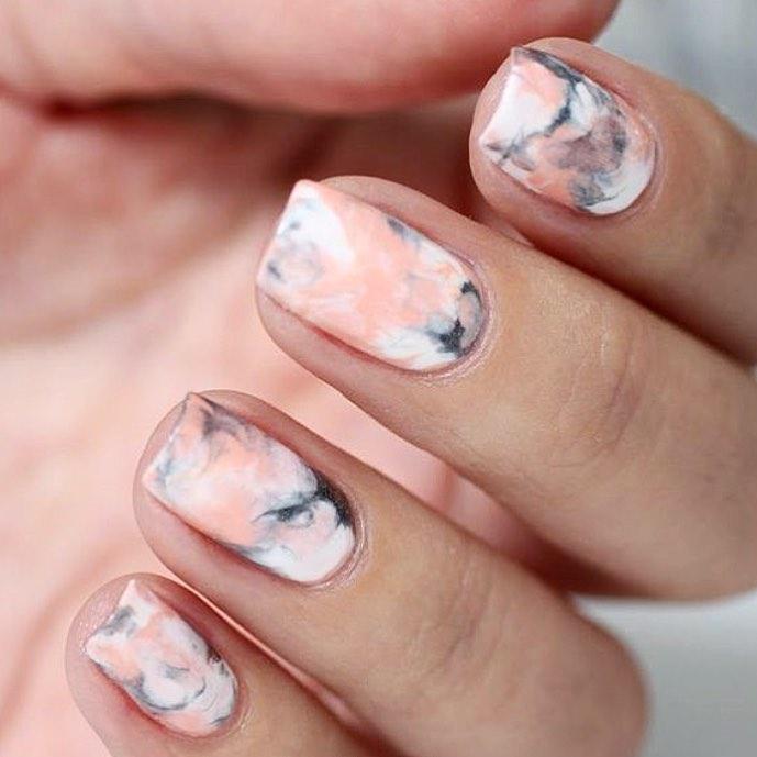 uñas de mármol