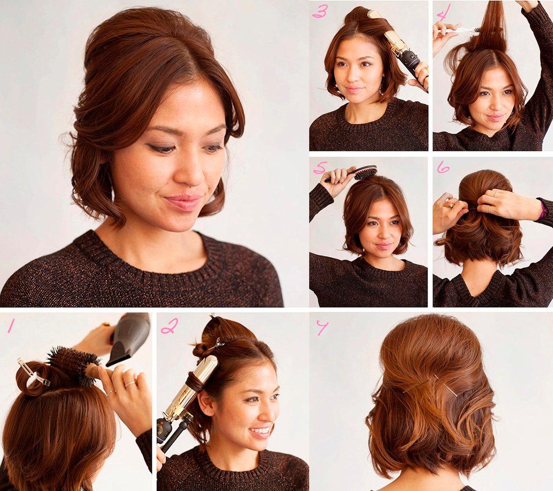 tutorial peinados cabello corto