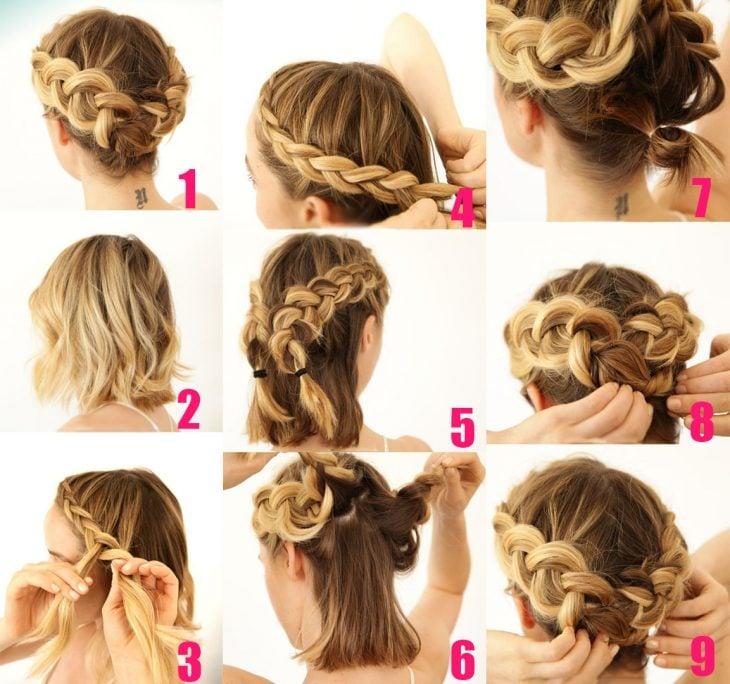 Galerry peinados cabello rizado largo