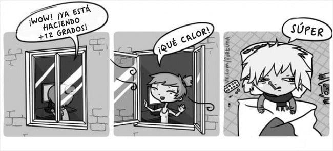 ilustración Valeriya Fortuna resfriado