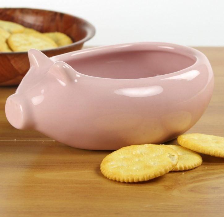 recipiente cerámica cerdito