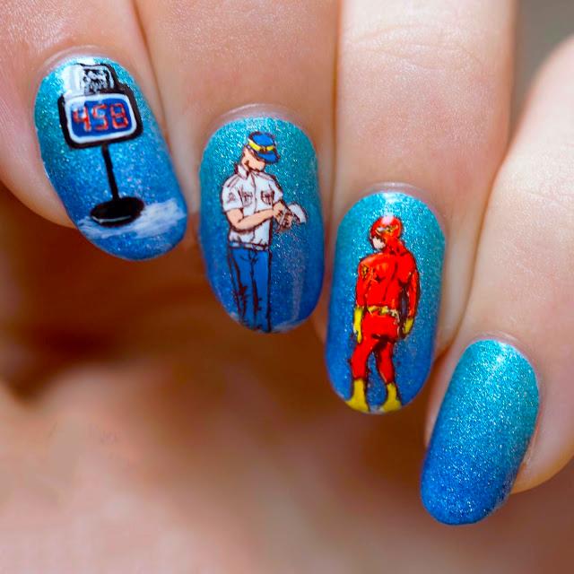 diseño de uñas con historias