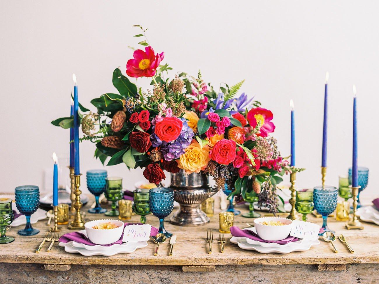 20 ideas de arreglos florales para centros de mesa centro de mesa de colores altavistaventures Image collections