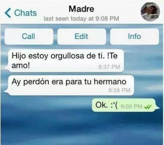 mensajes de texto de mamá