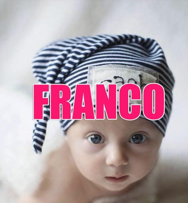 bebé franco