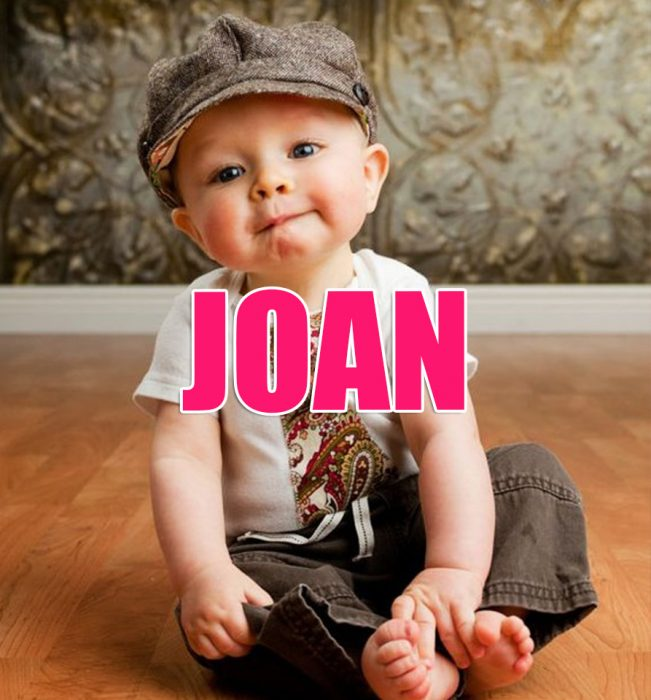 niño nombre joan