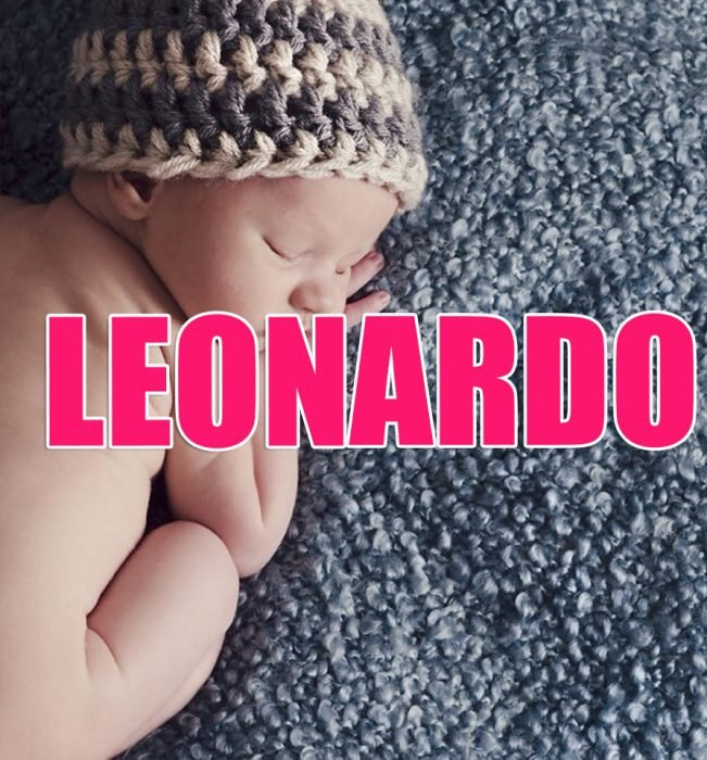 bebé leonardo