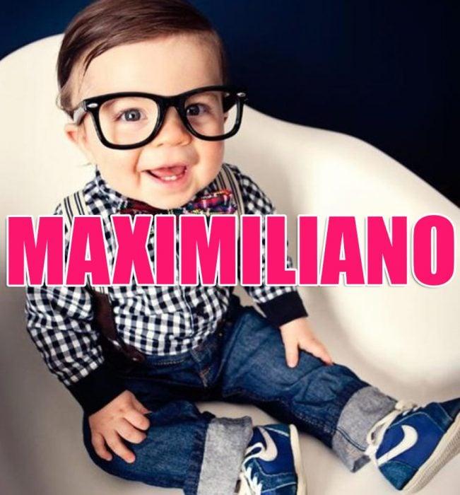 Bebé Maximiliano