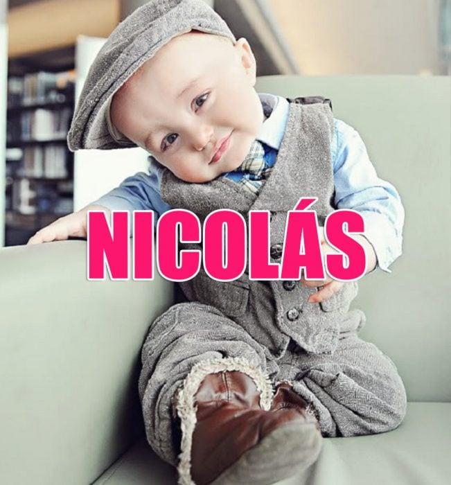 bebé Nicolás