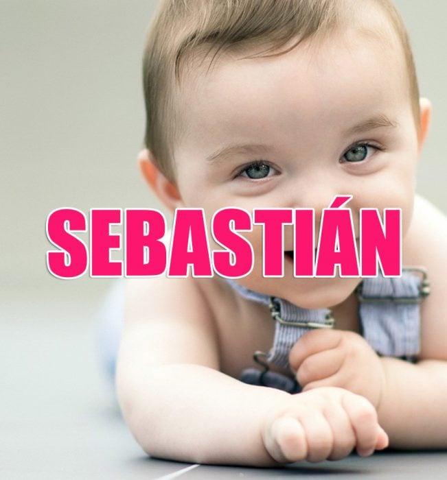 bebé Sebastián