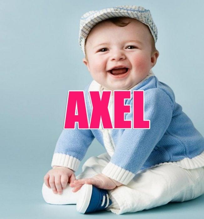 bebé Axel