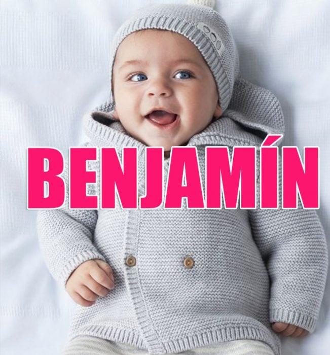 bebé benjamín