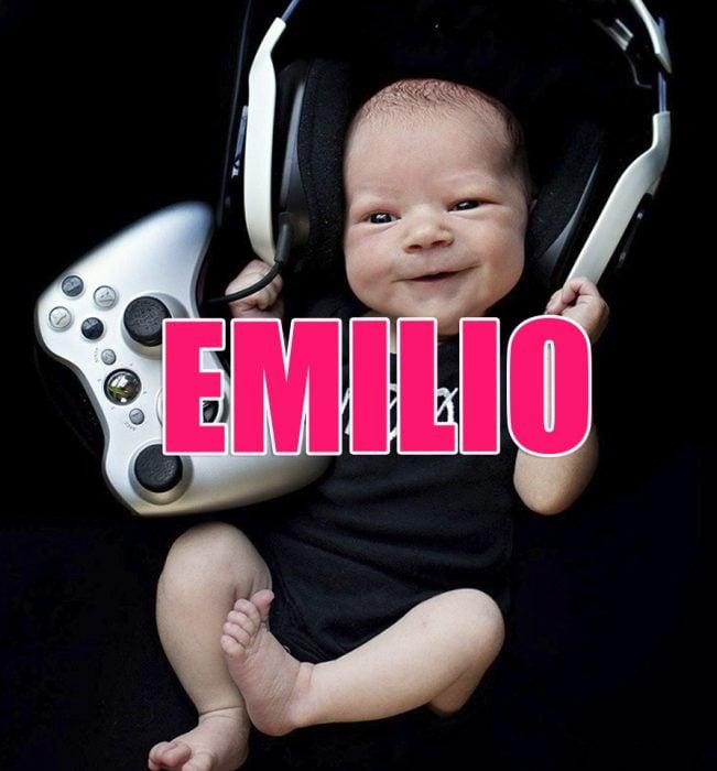 bebé Emilio