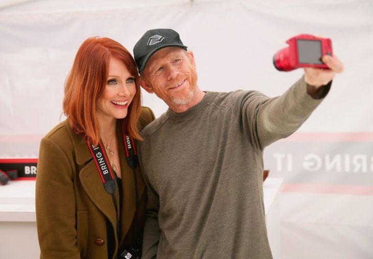 Ron Howard y Bryce Dallas Howard