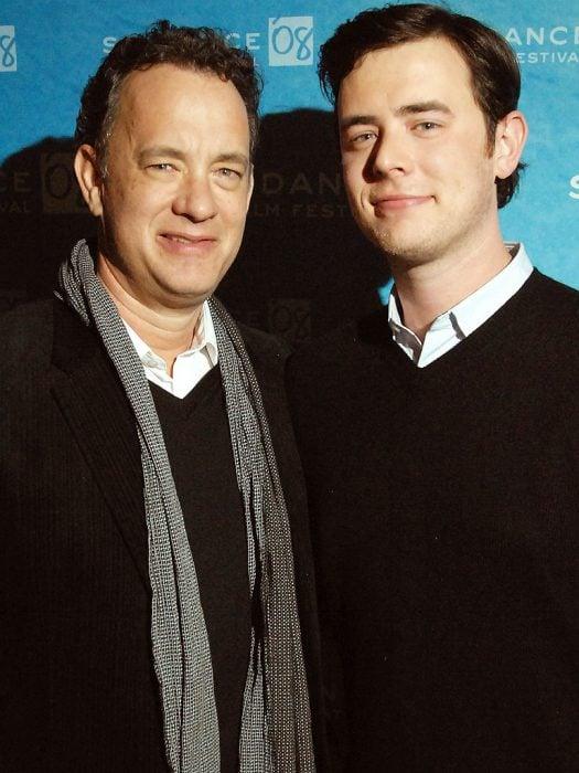 Tom y Colin Hanks