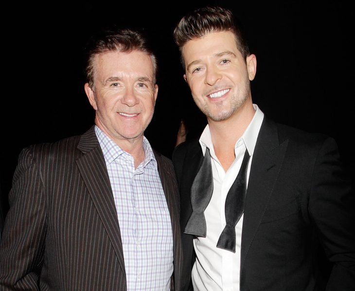 Alan y Robin Thicke