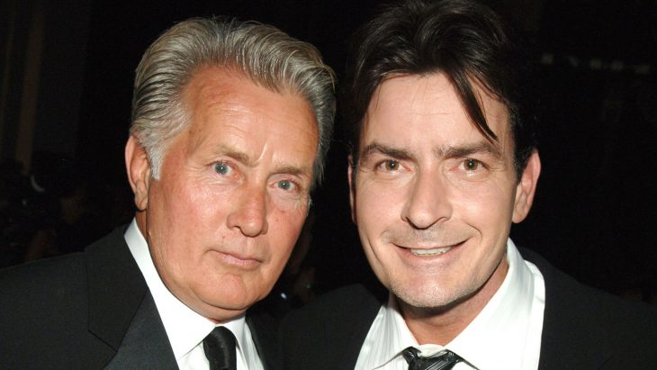 Martin y Charlie Sheen