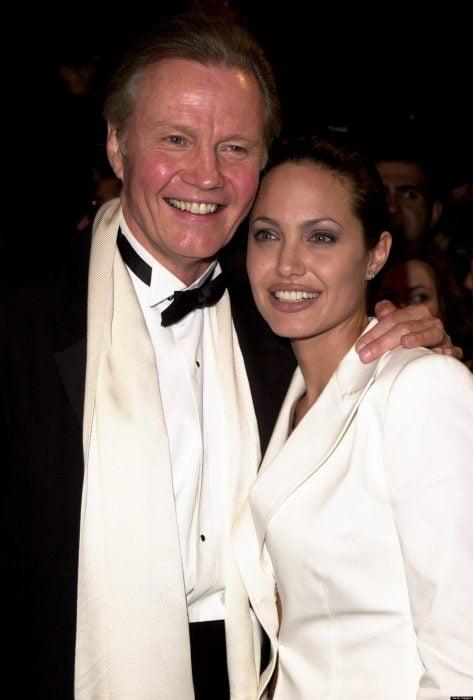 Jon Voight y Angelina Jolie