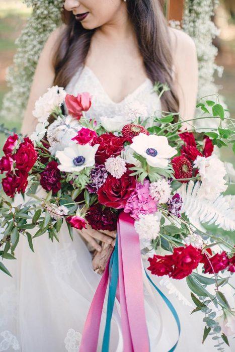 ramo de novia grande