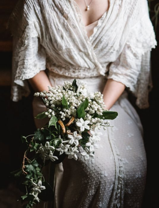 ramo de novia flores pequeñas