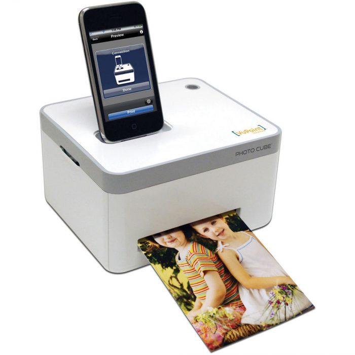 Photo Cube Smartphone Printer