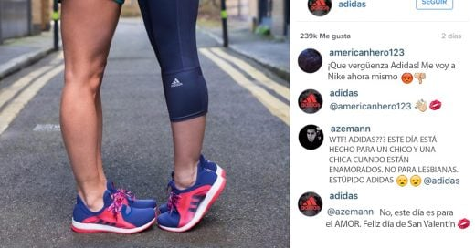 APLAUSOS para Adidas por sus brillantes zascas a los homófobos el Día de San Valentín