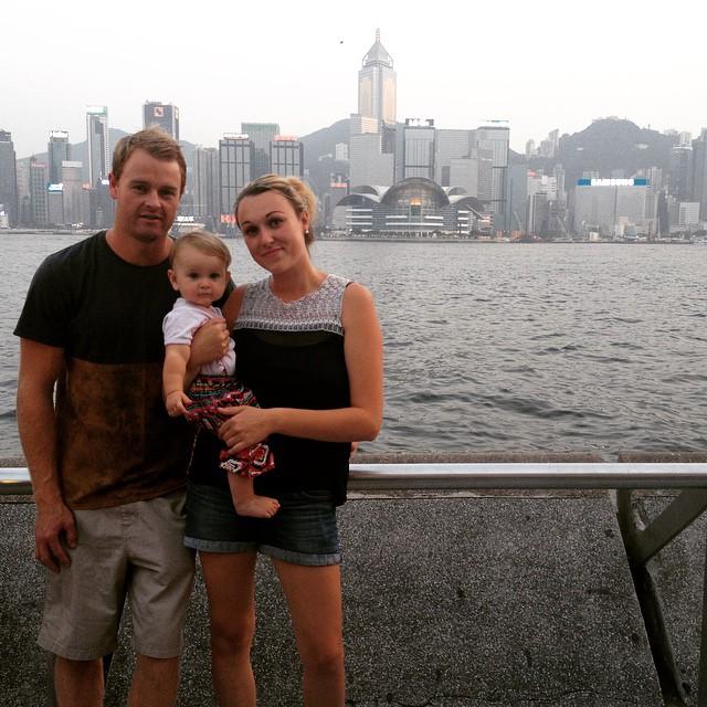 Familia que ha viajado con su bebé de sólo 10 meses al rededor del mundo