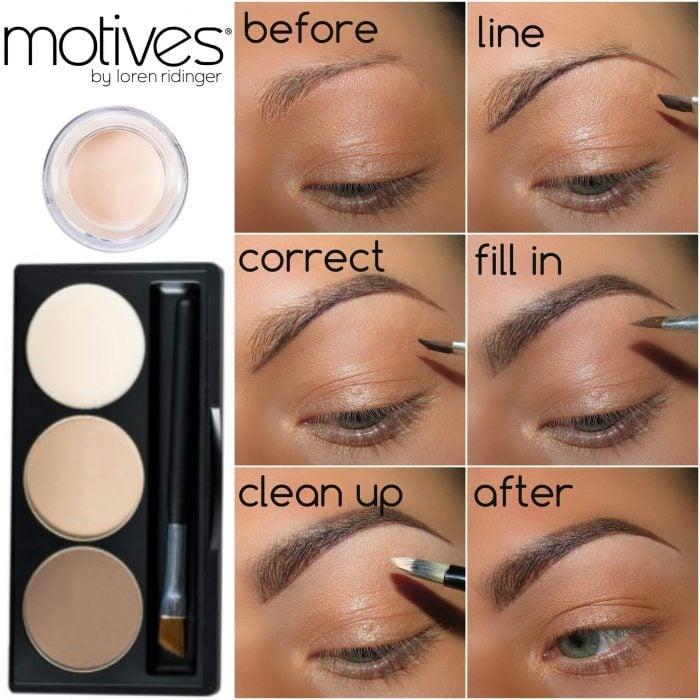 trucos para pintar tus cejas y diseñar la forma correcta