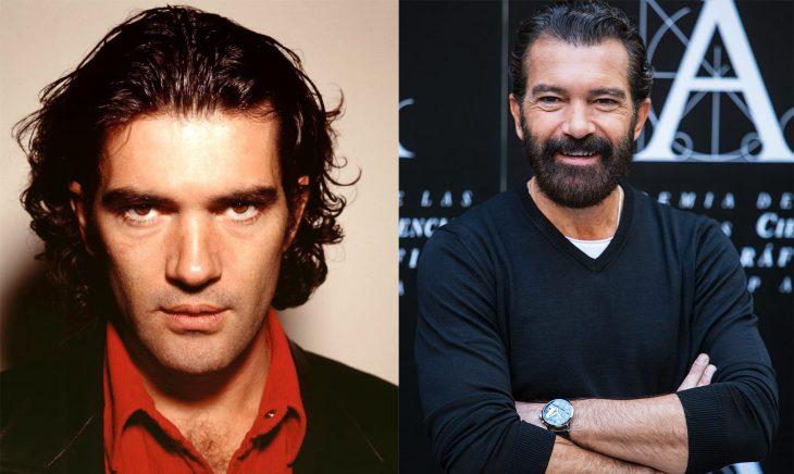 Antonio Banderas antes y después