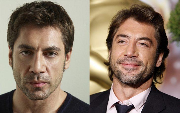 Javier Bardem antes y después