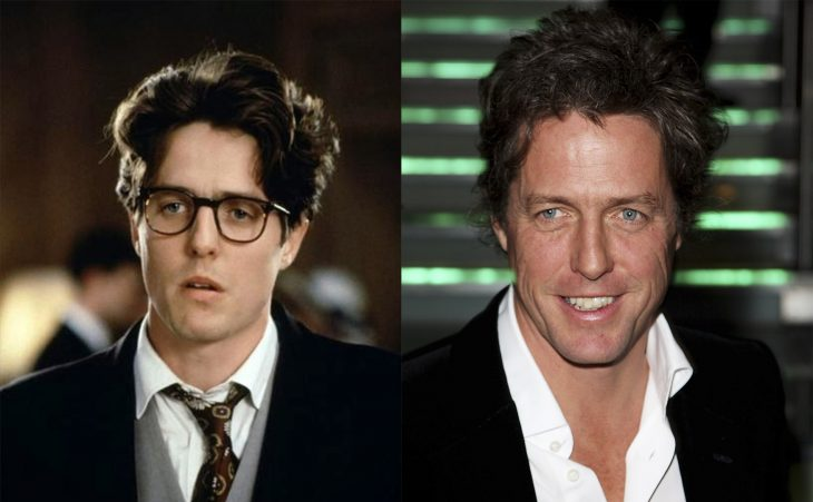 Hugh Grant antes y después