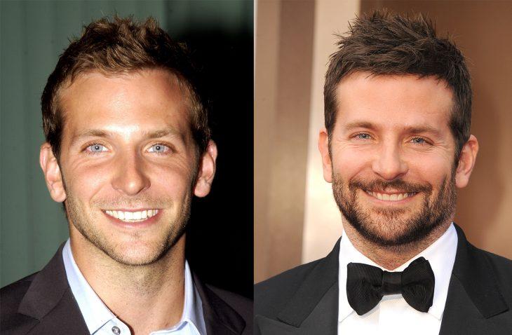 Bradley Cooper antes y después