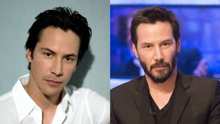 Keanu Reeves antes y después
