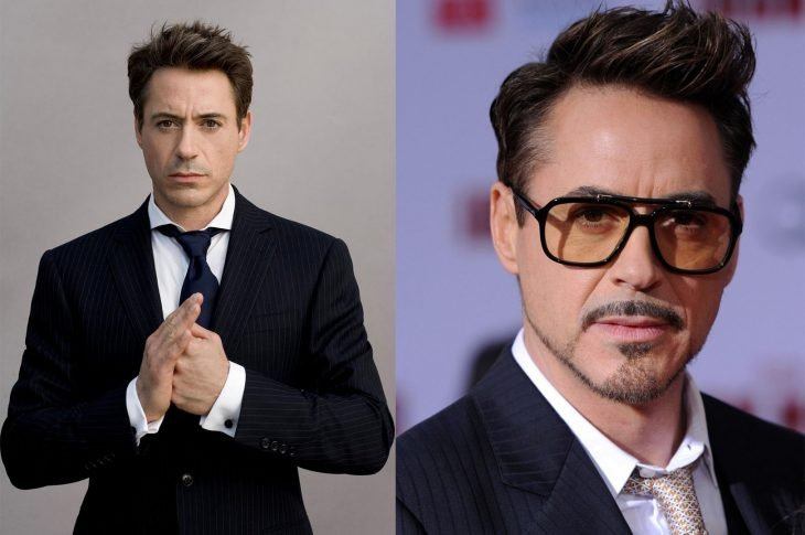 Robert Downey Jr antes y después