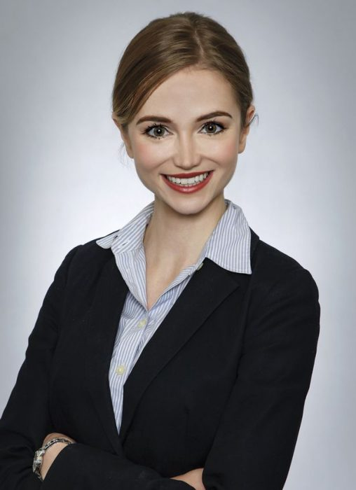 Sarah Ingle directora de Marketing que se disfraza de princesa de Disney