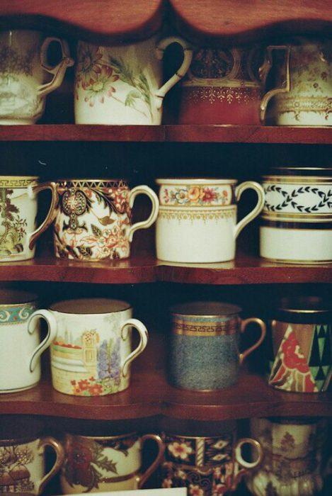 Tazas para el café