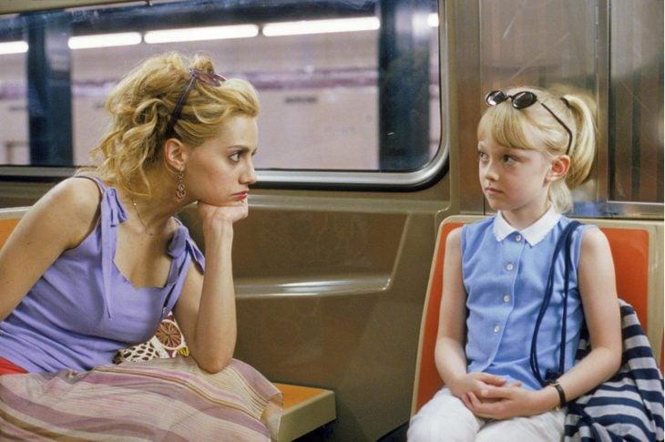 Escena de la película de pequeñas grandes amigas