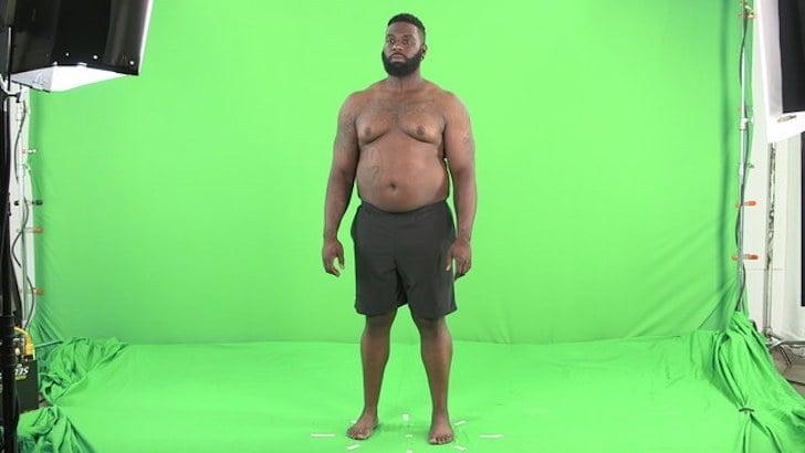 Adonis después de subir 30 kilos
