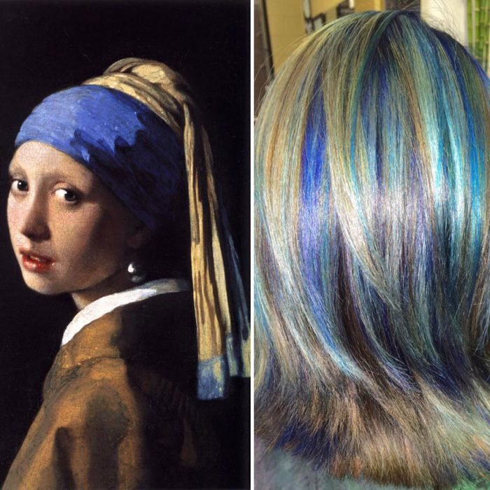 Girl with a pearl earring y tinte igual