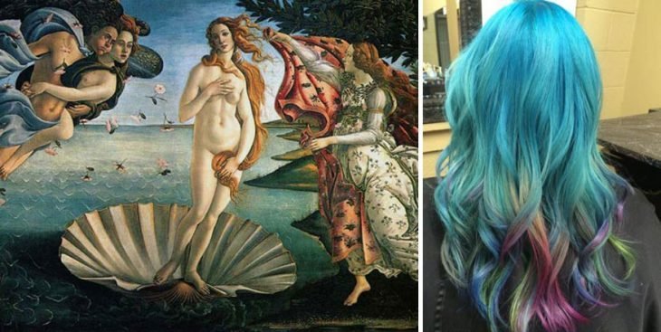 Birth of Venus y tinte igual