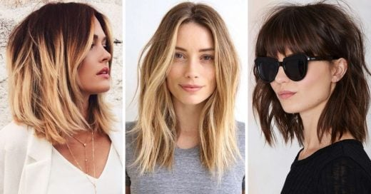 Ideas de corte bob y long bob